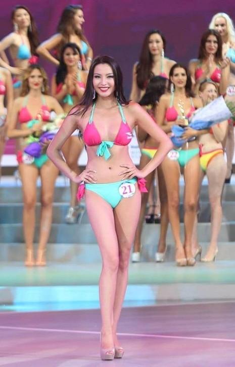 Nữ hoàng du lịch quốc tế năm 2016 Anu Namshir từng tham dự cuộc thi hoa hậu Thế giới năm 2015 tại Trung Quốc và giành giải tại cuộc thi Siêu mẫu quốc tế năm 2015. Ảnh Dân trí
