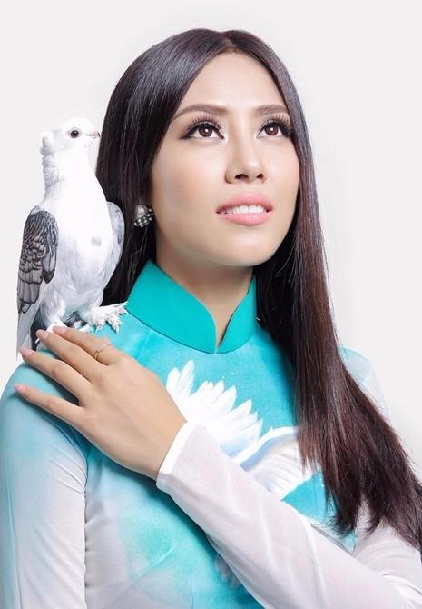 Người đẹp Biển đã có mặt cuộc thi Miss Grand International (Hoa hậu Hòa bình Quốc tế) tại Las Vegas, Mỹ.