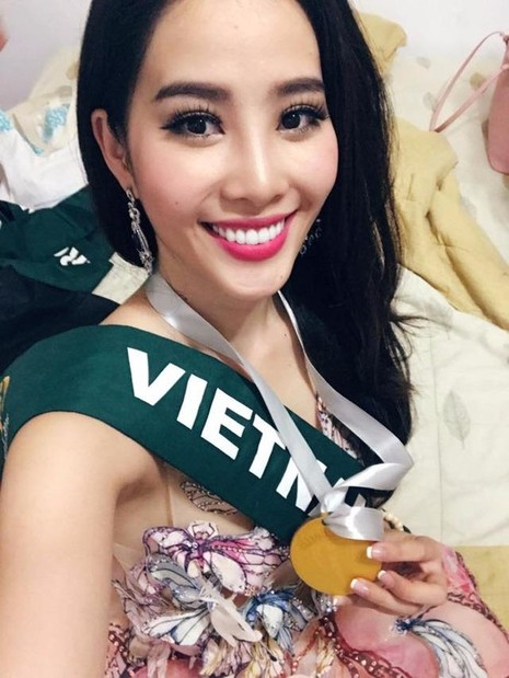 Đây chỉ là phần thi phụ nhưng sẽ giúp Nam Em tự tin hơn để chinh phục những giải thưởng trong những phần thi còn lại tại Miss Earth 2016 (Hoa hậu Trái đất 2016).