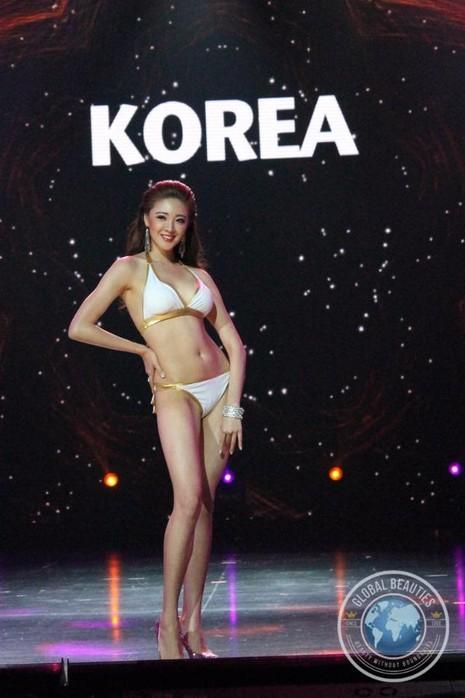 Hoa hậu Hàn Quốc giành số phiếu bình chọn nhiều nhất từ khán giả và trở thành Hoa hậu được khán giả yêu thích nhất. Ảnh: DÂN TRÍ