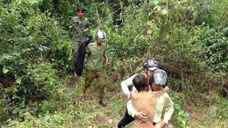 Thanh niên sống sót sau 4 ngày lạc trong rừng sâu  - ảnh 1
