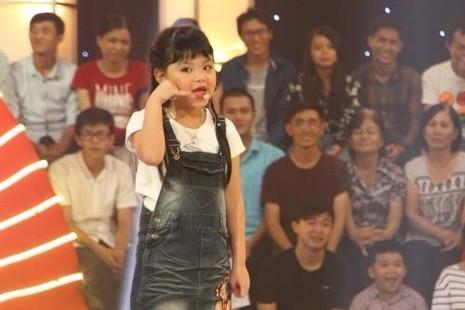 Thanh Hà tiếp tục có mặt tại đêm gala của chương trình. Ảnh VNE