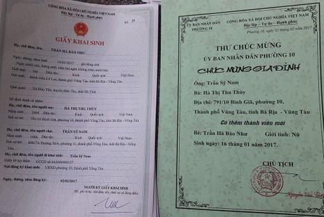 Phường gửi thiệp chúc mừng đám cưới, khai sinh công dân - ảnh 2