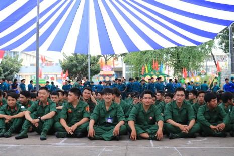 Quận Bình Thạnh: 235 thanh niên lên đường nhập ngũ - ảnh 5