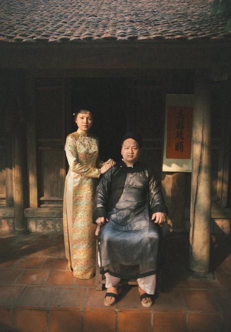 Cặp đôi chụp ảnh tái hiện 100 năm lễ cưới Việt Nam  - ảnh 2