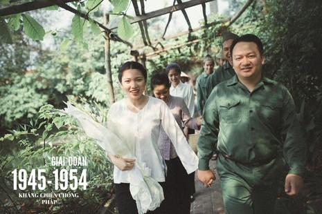 Cặp đôi chụp ảnh tái hiện 100 năm lễ cưới Việt Nam  - ảnh 3