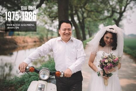 Cặp đôi chụp ảnh tái hiện 100 năm lễ cưới Việt Nam  - ảnh 8