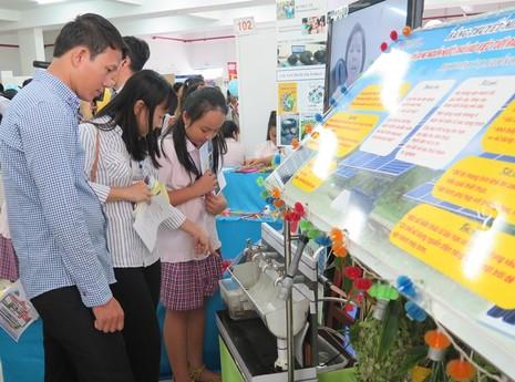 Triển lãm 100 dự án dạy học tiêu biểu nhất của TP.HCM - ảnh 2