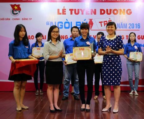 Tuyên dương 16 cá nhân và tập thể đạt giải thưởng Ngòi Bút Trẻ lần 8 - ảnh 1