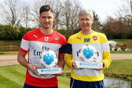 Bộ đôi Arsenal xuất sắc nhất Premier League tháng 3 - ảnh 1