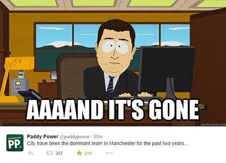 """Chùm ảnh hài hước """"hậu"""" Derby thành Manchester: Tử thần vẫy gọi Chelsea - ảnh 6"""