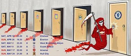 """Chùm ảnh hài hước """"hậu"""" Derby thành Manchester: Tử thần vẫy gọi Chelsea - ảnh 9"""