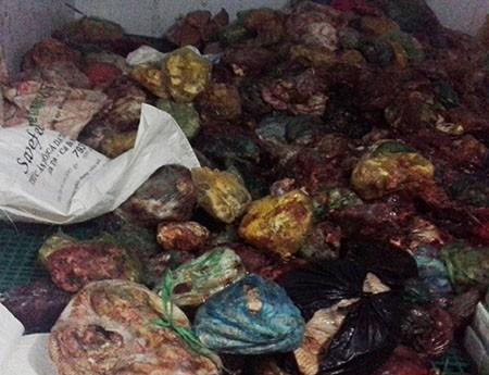 Phát hiện 14,6 tấn sản phẩm động vật không nguồn gốc - ảnh 4