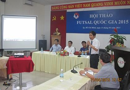 Futsal Việt Nam lên chuyên nghiệp: Tính đường tìm tiền - ảnh 1