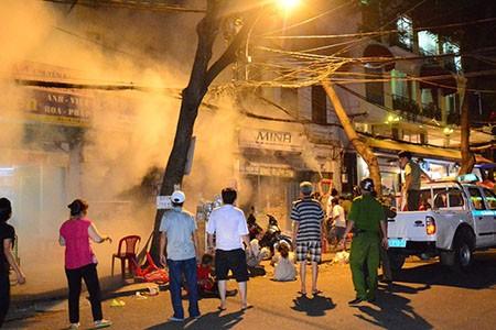 Xác định danh tính nạn nhân trong vụ cháy cửa hàng điện tử quận 1 - ảnh 1
