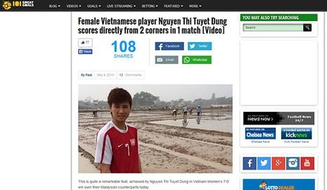 Báo nước ngoài ca ngợi 2 bàn thắng đá phạt góc của cầu thủ Việt - ảnh 1