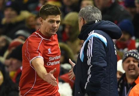 Gerrard khiến Mourinho