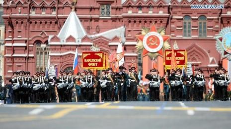 Trực tiếp: Lễ kỷ niệm 70 năm chiến thắng phát xít tại Quảng trường Đỏ - ảnh 34