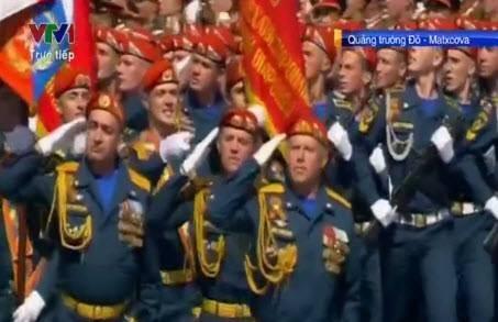 Trực tiếp: Lễ kỷ niệm 70 năm chiến thắng phát xít tại Quảng trường Đỏ - ảnh 26