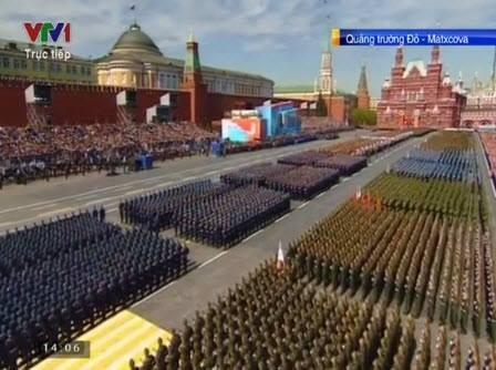 Trực tiếp: Lễ kỷ niệm 70 năm chiến thắng phát xít tại Quảng trường Đỏ - ảnh 52