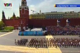 Trực tiếp: Lễ kỷ niệm 70 năm chiến thắng phát xít tại Quảng trường Đỏ - ảnh 4