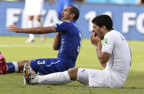 """Thú vị: Suarez tái ngộ với hai """"nạn nhân"""" ở chung kết C.L - ảnh 1"""