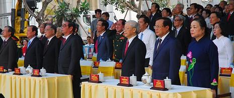 TP.HCM: Khánh thành tượng đài Chủ tịch Hồ Chí Minh  - ảnh 3