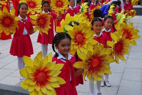 TP.HCM: Khánh thành tượng đài Chủ tịch Hồ Chí Minh  - ảnh 7