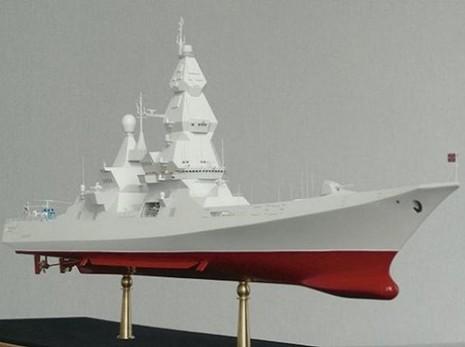 Nga công bố thiết kế siêu tàu khu trục mới mang theo hơn 200 tên lửa - ảnh 1