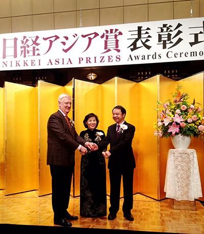 Đại diện duy nhất Việt Nam nhận giải thưởng cao tại Nhật - ảnh 1