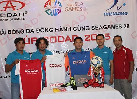 Giải bóng đá đồng hành cùng SEA Games 28 vì mục tiêu cao cả - ảnh 1
