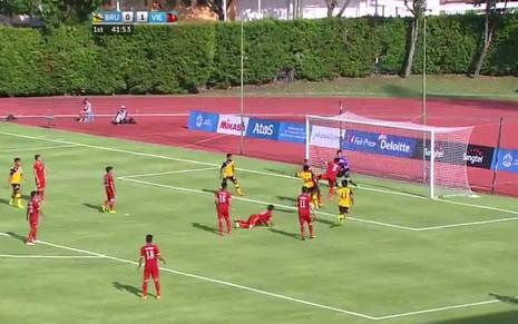 U23 Việt Nam 6-0 U23 Brunei: Hiệp 1 mờ nhạt, hiệp 2 bùng nổ - ảnh 20