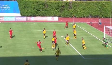U23 Việt Nam 6-0 U23 Brunei: Hiệp 1 mờ nhạt, hiệp 2 bùng nổ - ảnh 11