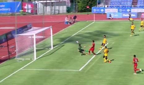 U23 Việt Nam 6-0 U23 Brunei: Hiệp 1 mờ nhạt, hiệp 2 bùng nổ - ảnh 1