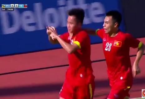 U23 Việt Nam 6-0 U23 Brunei: Hiệp 1 mờ nhạt, hiệp 2 bùng nổ - ảnh 24