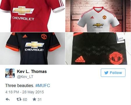 Rò rỉ áo đấu mới nhất của Manchester United - ảnh 2