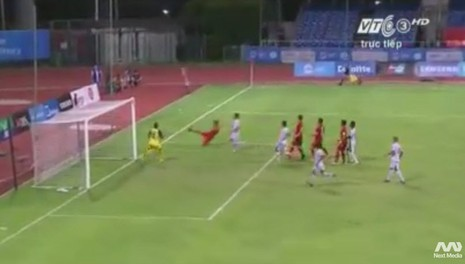 Quế Ngọc Hải 'lên đồng', U23 Việt Nam đè bẹp U23 Đông Timor - ảnh 10