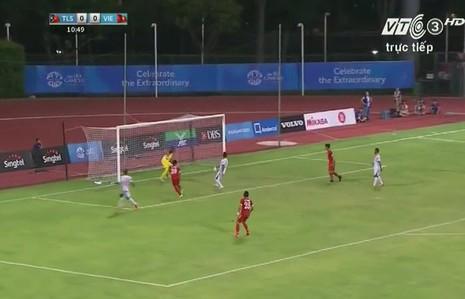 Quế Ngọc Hải 'lên đồng', U23 Việt Nam đè bẹp U23 Đông Timor - ảnh 15