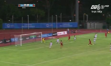 Quế Ngọc Hải 'lên đồng', U23 Việt Nam đè bẹp U23 Đông Timor - ảnh 9