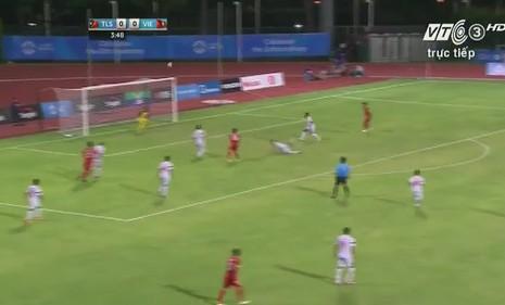Quế Ngọc Hải 'lên đồng', U23 Việt Nam đè bẹp U23 Đông Timor - ảnh 17