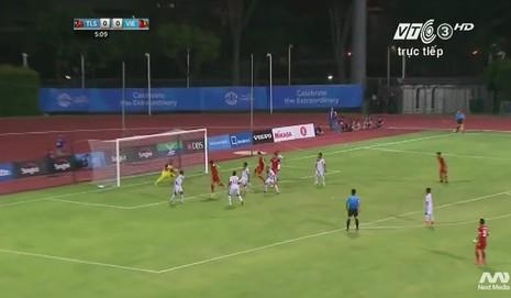 Quế Ngọc Hải 'lên đồng', U23 Việt Nam đè bẹp U23 Đông Timor - ảnh 16