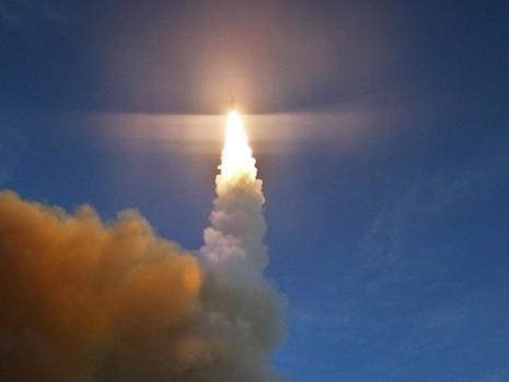 Mỹ thử thành công tên lửa đánh chặn SM-3 Block IIA - ảnh 1