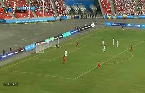 U23 Việt Nam - U23 Myanmar (1-2): U-23 Việt Nam lại lỡ hẹn - ảnh 1