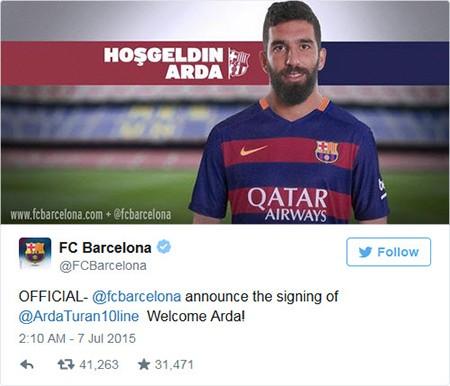 Vượt Chelsea, Barcelona mua  tân binh giá 29 triệu bảng - ảnh 1