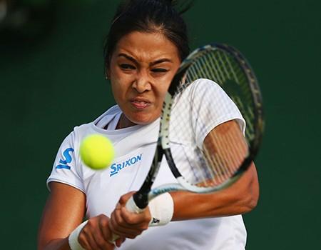 Những hình ảnh ấn tượng, hài hước tại Wimbledon - ảnh 15