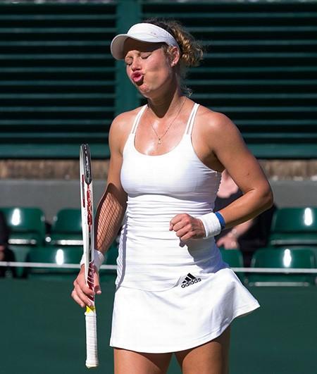 Những hình ảnh ấn tượng, hài hước tại Wimbledon - ảnh 29