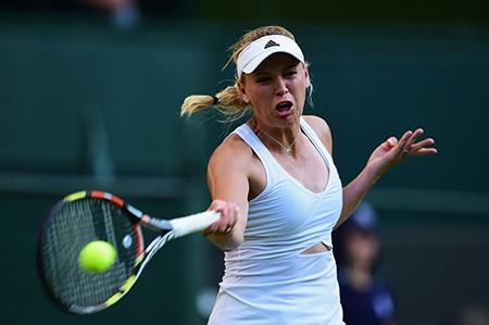 Những hình ảnh ấn tượng, hài hước tại Wimbledon - ảnh 35