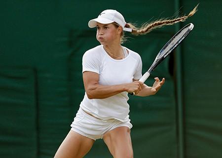 Những hình ảnh ấn tượng, hài hước tại Wimbledon - ảnh 39