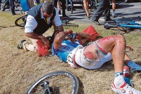 Tour de France bị tố quá tàn nhẫn - ảnh 1