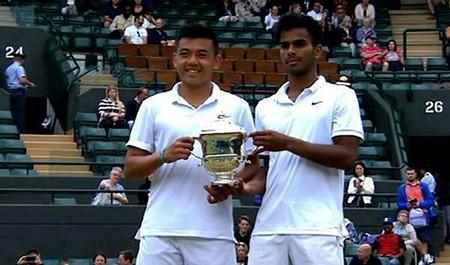 Lý Hoàng Nam vô địch đôi nam trẻ Wimbledon: Đừng để xảy ra khủng hoảng truyền thông - ảnh 1